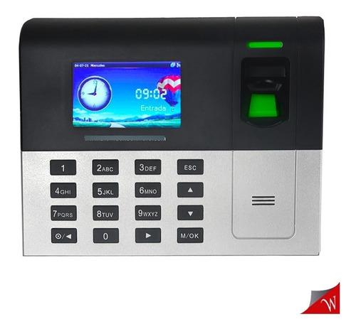 Imagen 1 de 5 de Reloj Biometrico Control De Asistencia Bt Time