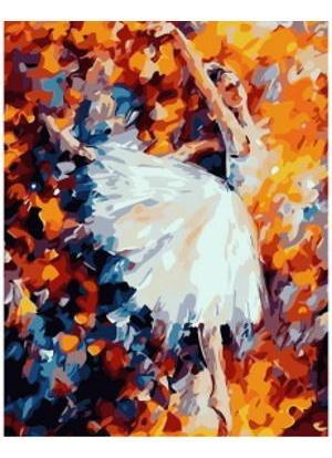 Pintura Numerada Bailarina Pintura Abstrata Modelo 1