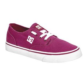 Tenis Dama Dc Shoes Adjs300194-rrd Rey 23-29 W73948 T2