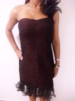 Vestido De Dama Elegante Talla S Usado Tienda Virtual