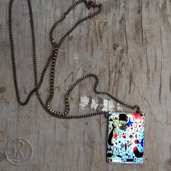 Colar Em Amor Com Uma Mulher - Joan Miró