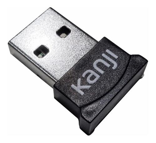 Imagen 1 de 10 de Adaptador Bluetooth Usb 4.0 Antena Ad2p Hid Pc Notebook Win