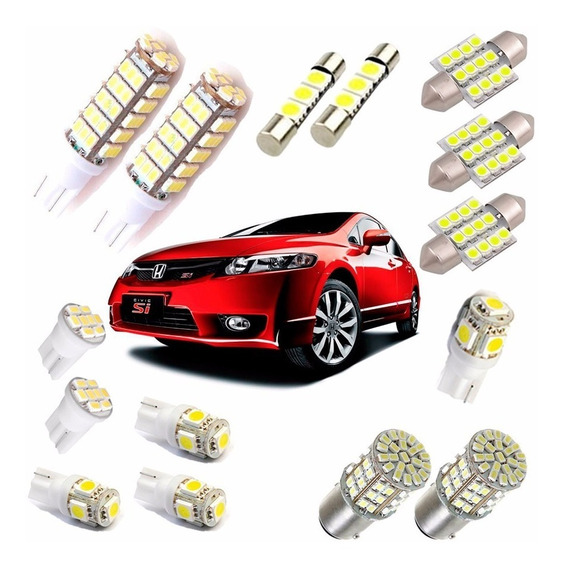 Kit Lâmpadas Led New Civic 2006 2007 2008 2009 2010 2011
