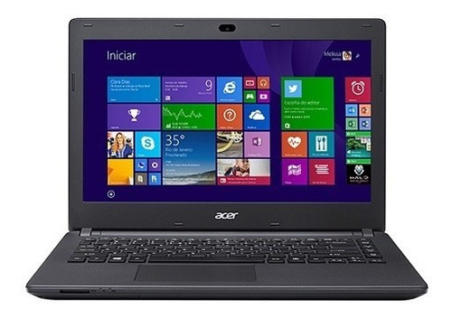 Imagem 1 de 9 de Promoção Notebook, Acer, Intel Quadcore, 4gb, 500gb, Win10