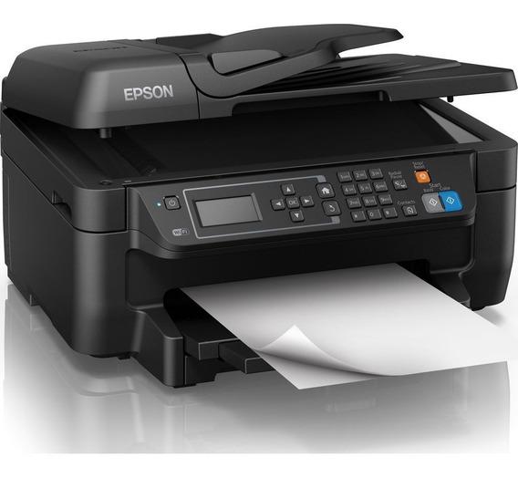 Impresora Epson Wf-2750 Multifuncional Escaner Copia Fax
