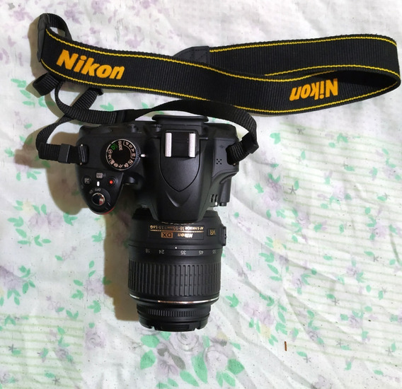Câmera Dslr Nikon D3200 + Lente 18-55mm