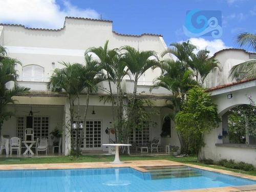 Imagem 1 de 22 de Casa À Venda - Condomínio Jardim  Acapulco - Guarujá - Ca0372