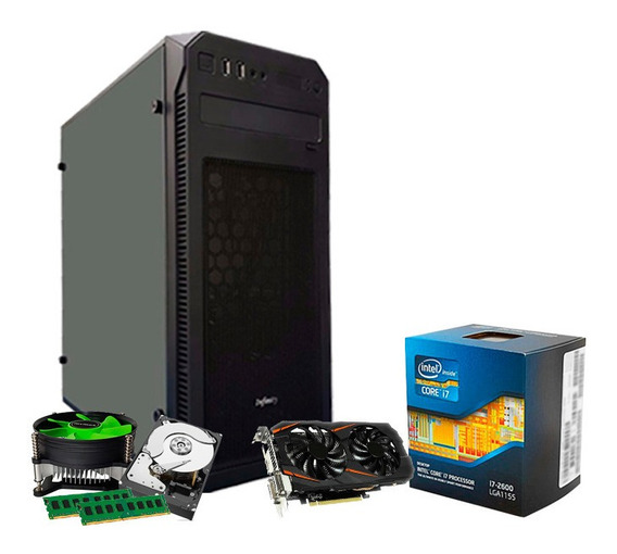 Pc Gamer Intel I7, 16gb, 1tb, Geforce 6gb 1060 Gtx + Nfe