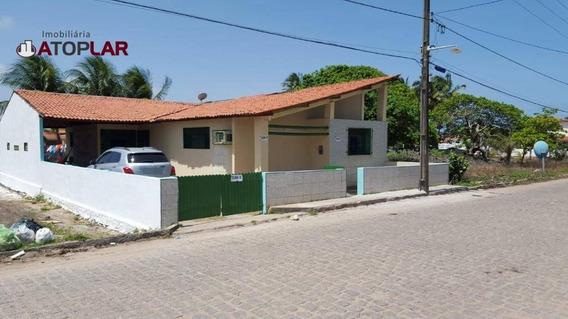 Casa À Venda, 300 M² Por R$ 270.000,00 - Praia Azul - Pitimbú/pb - Ca0072