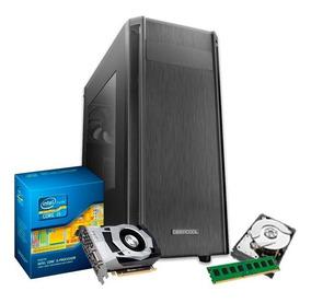 Pc Gamer Intel I5 3.6 Ghz, 8gb, Gf 4gb 1050 Gtx Ti + Nfe