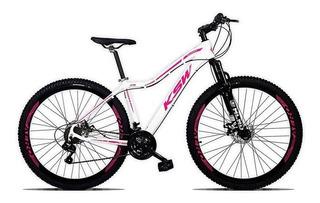 Bicicleta Feminina Sunny Aro 29 Quadro 15 Alumínio 21v Suspe