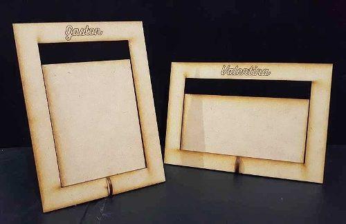 50 Portaretratos Fibrofacil Personalizados Para Foto 10x15