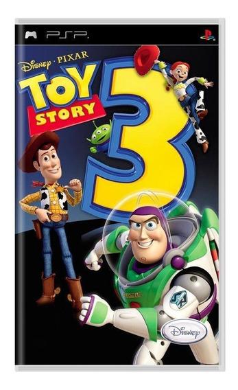Toy Story 3 Psp Mídia Física Pronta Entrega
