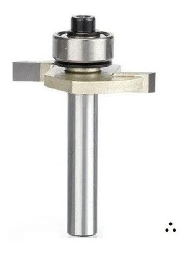 Fresa T Serrinha Debrum Com Rolamento 6mm X 5/32 ( Perfil T)