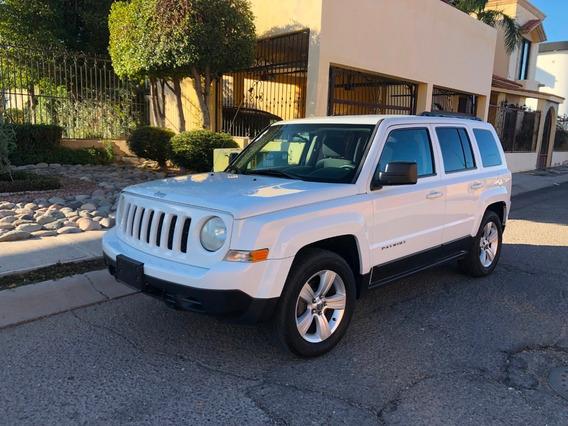 Jeep Patriot 2014 Factura De Agencia 2 Dueños Enterita