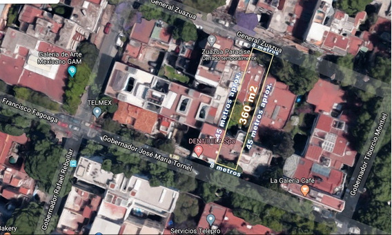 Terreno Adjudicado En Venta En Col. San Miguel Chapultepec