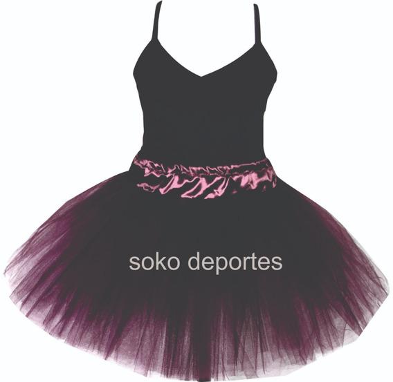 Tutu + Malla Danza Tiras Finas Ballet