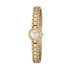 Relógio Seculus Feminino 23592lpsvda1 Social Mini Dourado