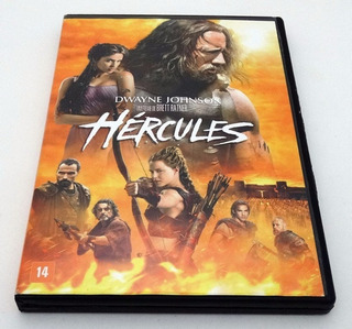 Dvd Hércules / Brett Ratner Épico / Bíblico Lacrado Fabrica