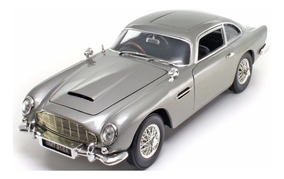 Miniatura Aston Martin Db5 James Bond 007 Goldfinger 1/18