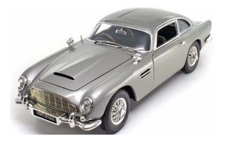 Miniatura Aston Martin Db5 James Bond 007 Goldfinger 1/18