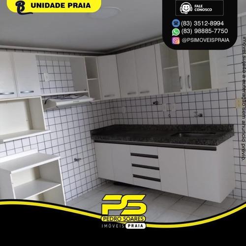 Imagem 1 de 7 de Apartamento Com 3 Dormitórios À Venda, 125 M² Por R$ 489.000 - Manaíra - João Pessoa/pb - Ap4839