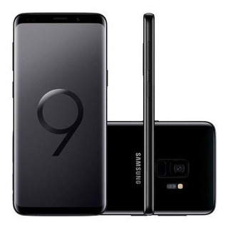 Samsung Galaxy S9 Plus G9650/ds 128gb Preto Vitrine