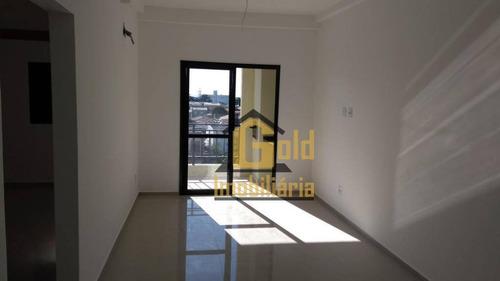 Apartamento Com 2 Dormitórios À Venda, 70 M² Por R$ 290.000 - Parque Dos Bandeirantes - Ribeirão Preto/sp - Ap2532