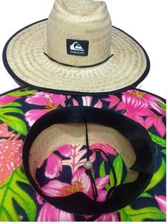 Chapéu De Palha Quiksilver Estampado Vcod565