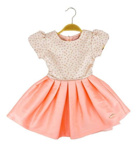 Vestido De Fiesta Para Niña Bombacho 03906
