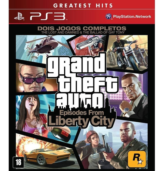 Gta 4 Ps3 Episodes From Liberty City Grand Theft Auto Ps3