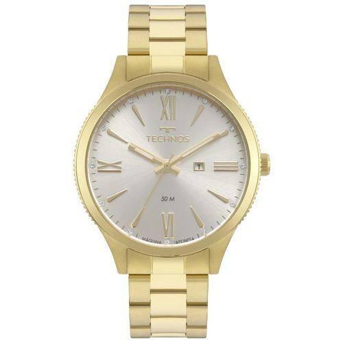 Relógio Technos Feminino Ref: 2015ccp/4k Fashion Dourado