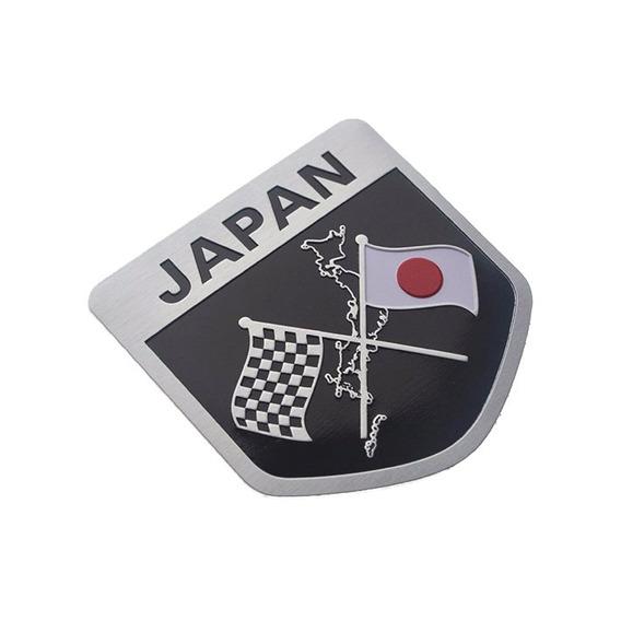 Emblema Japan Japão Honda Suzuki Mitsubishi Nissan Subaru