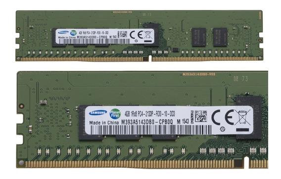 Server Ram Ddr4 4gb Samsung Pc4-2133p-r Registered Ecc