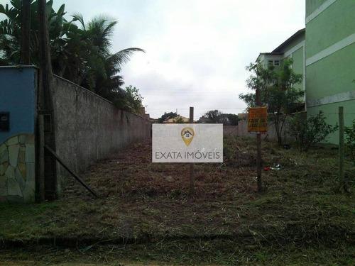 Imagem 1 de 4 de Terreno No Bairro Verdes Mares, Rio Das Ostras! - Te0122