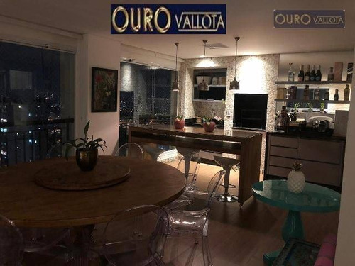 Apartamento Com 3 Dormitórios À Venda, 210 M² Por R$ 2.544.000,00 - Vila Prudente (zona Leste) - São Paulo/sp - Ap3001