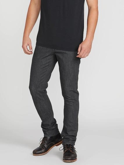 Pantalon Volcom Hombre Skate 2x4 Jean Skinny Stretch 32 X 32