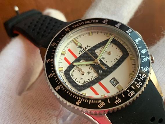 Relógio Yema Rallygraf Glace Watch Box Set France