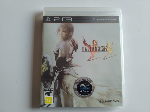 Dual Ps3 Final Fantasy Xiii Usado E Final Fantasy Xiii-2