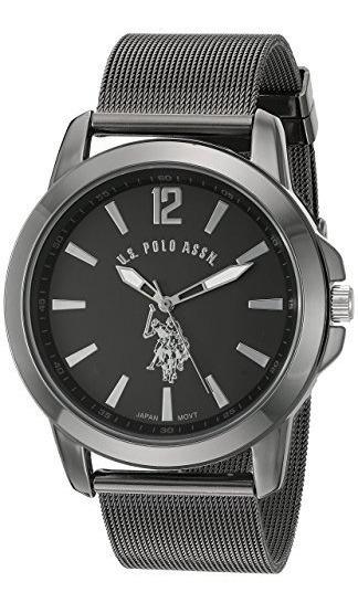 Reloj U.s Polo Ralph Lauren Assn. Negro Envio Gratis