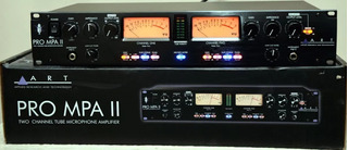 Art Pro Mpa Ii Professional 2channel Microphone Preamp Valv