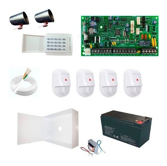 Kit Alarme Paradox Sp4000 Com 4 Sensores Nv5