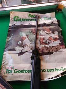 Cartaz Antigo Guaraná Taí Grande E Original