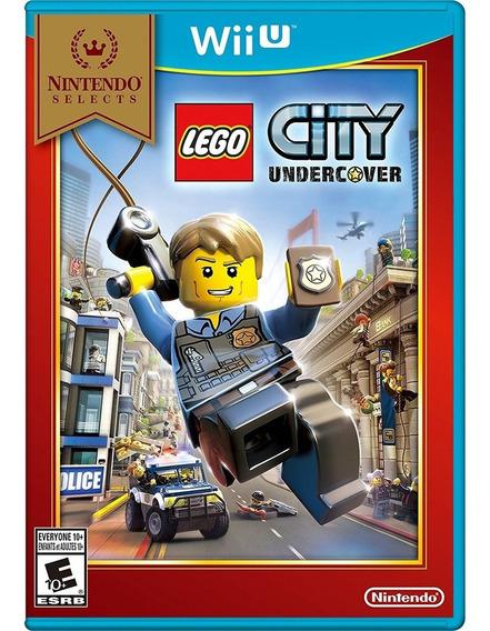 Lego City Undercover - Wiiu Mídia Física Lacrado
