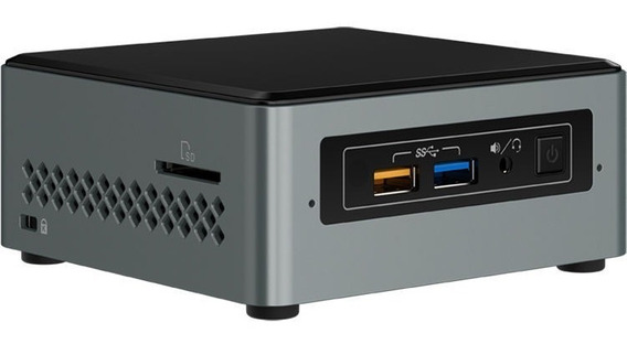 Mini Pc Kit Intel Nuc Boxnuc6cayh 8gb Ssd 120gb J3455