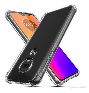Funda Motorola Moto G7 Power Anti Golpes + Vidrio Templado