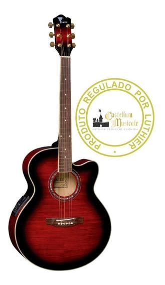 Violão Jumbo Eagle Ch 70f Testado E Regulado Por Luthier