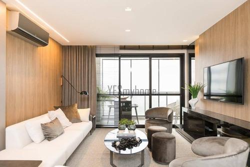 Apartamento Duplex Com 2 Dormitórios À Venda, 103 M² Por R$ 1.080.000,00 - Batel - Curitiba/pr - Ad0102