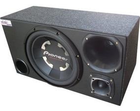 Caixa Trio Sub Pioneer Ts-w300 + 1 Driver + 1 Tweeter