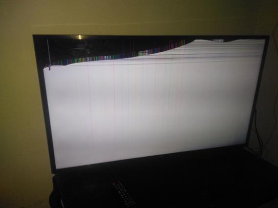 Smart Tv Led 43 Polegadas Samsung Com Tela Danificada.
